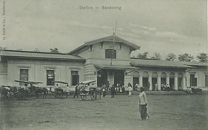 Stasiun Bandung Tempo Dulu Bandung Tempo Dulu Stasiun