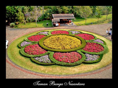 Taman Bunga Nusantara ialah objek wisata agro yang merupakan aset ...
